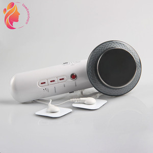 3IN1 Ultrasonic EMS Slimmer Micro Current Massager Ultrasonic Fat Burning Heat Electric Body Contour Beauty Machine Home Use