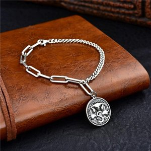 925 Silver Bracelet Women's Bracelet 925 Silver Fine Jewelry Crystal Heart Lock Flower Simple Water Drop Lobster Buckle