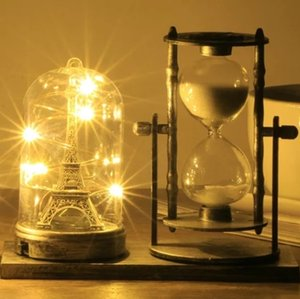 Creative Restoring Ancient Tower Hourglass Timer Furnishing Articles Trinkets Boys Girls Crafts Gifts Hourglass Timer Ornaments