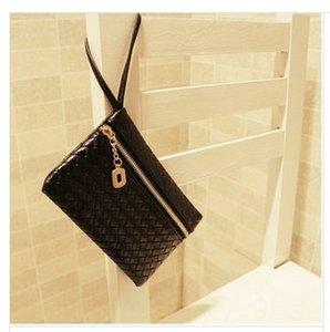 New women's Korean style versatile woven coin purse universal pu for men and Fashion Bag wallet Fashion Bag women