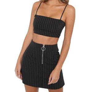 Womail Women Fashion Party Cocktail Skirt Dresses Ladies Summer Printed Striped Skirt Fashion Slim High Waist Striped