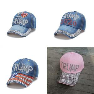 USA Brilliant Circular Hat Trump Hats Selection Activity General Election Peaked Cap Cowboy President Sport S Base Balls 15my C2