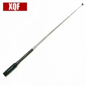 XQF 10PCS RH775 Dual Band alta GainTelescopic Antena RH775 BNC Para Walkie Talkie ICOM IC-V8 IC-V80 IC-V80E IC-V82 IC-V85