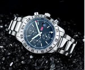 nuovo sport degli uomini di trasporto di modo di qualità superiore meccanica orologio automtic orologi inox orologio da polso in acciaio della moda