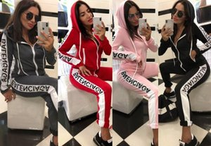 Womens 2 piece set outfits cardigan pants Tracksuit long sleeves jacket leggings fall Jogging Sports Suits Sportswear sexy hot kl3269