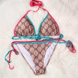 2020SS New Women Sexy Swimwear Hot Sale Summer Swimming Bikini Setsfashion Sexy Womens Bikinis Tops Quality