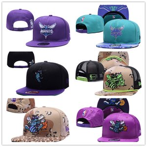 Mens Womens designer bucket hats Basketball Hornets Snapback hats Baseball Football Cap Flat Adjustable Cap Sports Hat mix order