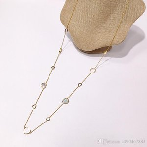 High quality brand titanium steel sweater chain 18K gold rose silver long necklace suitable for fashion women's gift come whit dust bag