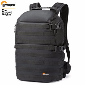 transporte rápido Genuine Lowepro ProTactic 350 AW DSLR Camera Foto Mochila Laptop com All Weather Cover T191025