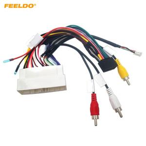 FEELDO Car Audio CD / DVD-плеер 16PIN Android Кабель питания Адаптер для Hyundai Энсино Mistra KIA K3 KX5 Радио Электропроводка # 6500