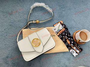 wholesale New Genuine Leather Messenger bag women original box fashion purse lady handbag lusso tote famous Marca progettista messenger bag