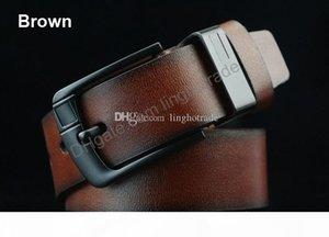 H Top Selling Designer Delts Leather Men Women Belt Male Luxury Belts Black Coffee Brown Colors Woman Man Belt Big Needle Buckle Jeans
