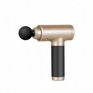 Металл LCD Массаж Ударные Массажер инструмент Спорт Мышцы Расслабляющая терапия Комплексная Фитнес оборудование UKZ5 #