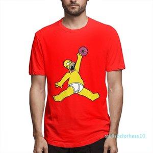 L'été arrive en tête Designer Fashion Simpsons Shirts Hommes chemise manches courtes Les Simpsons T-shirts imprimés causales c3205s10