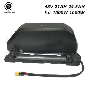 Leistungsstarke 2020 New Jumbo Shark Ebike Batterie 48V 21AH 24.5AH mit Samsung 35E 18650 Handy und 45A BMS Für 1500W 1000W Bafang Motor