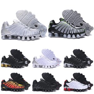 New Mens Running Shoes OZ NZ R4 1308 Black Metallic Silver Sunrise University Red trainers Designer sports sneakers