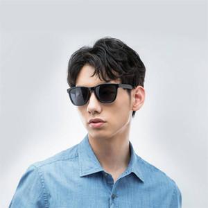 Xiaomi Mijia TAC gafas de sol cuadrados clásicos para hombre, mujer polarizados El diseño de la lente de una pieza de conducción gafas de sol deportivas