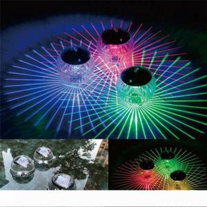물 드리프트 램프 부동 빛 보안 수송선 10100 변경 LED 디스코 빛 수영장 방수 LED 태양 광 발전 멀티 컬러