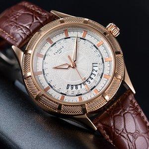 New Mens Watch Calendar European and American Fashion Quartz Watch Non-Mechanical Watch Export Supply