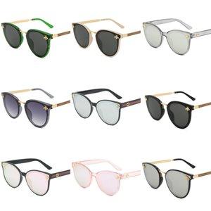 Nova 2020 Moda Steampunk Óculos Mulheres Homens Marca Designer Clip On Sunglasse do espelho Zonnebril Mannen UV400 Y23 # 845