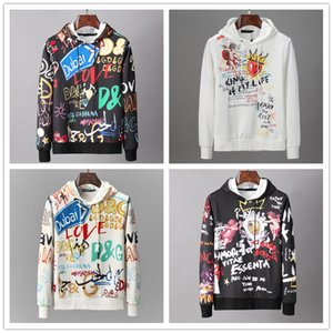 Fashion printed sports luxury mens hoodies designer tide brand man hoodie Street hip hop sweater high quality hot selling printing pullover