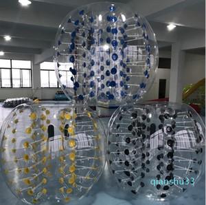 Mode-verrückter Sportball 1.2m menschlicher aufblasbares Auto Ball im Freien Kinder-Spiel Fußball-PVC-Blase Bälle aufblasbarer Zorb Ball spielen