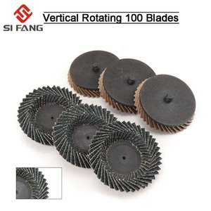 2-12pcs 3inchs80mm Sanding Discs 40 Grit Type R Roloc Wheel Grinding Wheels Blades Plastic Cap for Angle Grinder