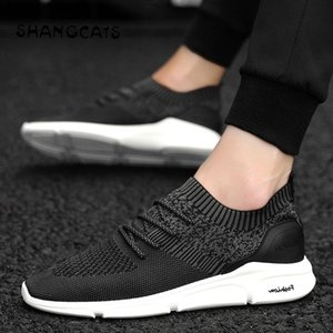 2020 new Sock Shoe Men Casual Shoes women Men Sneakers Without Lace Fashion For Flats Casual Tenis Masculino Adulto mens designer shoes