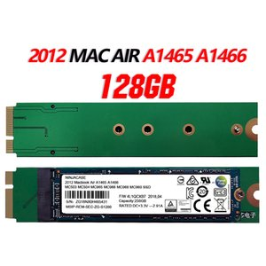 New 128GB SSD Para 2012 Macbook Air A1465 A1466 ESTADO SÓLIDO DISK Md231 md232 md223 md224 disco rígido Mac 128G