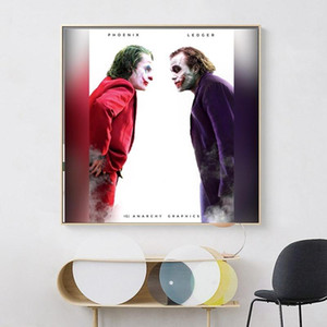 Comics The Joker Origin Movie Posters Prints Classical Wall Art Canvas Oil Painting Wall Picture for Living Room Fashion Home Decoration