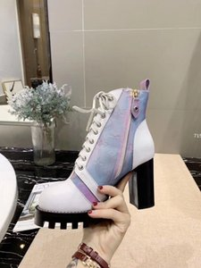 715 Sexy Flock Ankle Boots For Women Platform High luxury