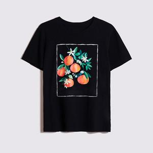 Männer Art und Weise Sommer-Hip Hop-T-Shirt Qualitäts-Mann-Frucht-Druck-Kurzschluss-Hülsen-T-Shirt Größe S-XXL