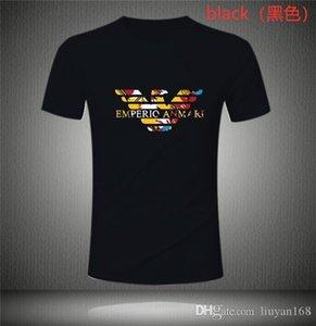 20ss Arma̴ni Italy Street wear Men's T-Shirts Short Sleeved Reflective Letter printing T Shirts Casual T Shirt Men Tee