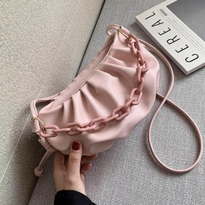 Candy Color Cloud Cross Bags For Women 2020 Summer Cute Shoulder Messenger Bag Lady Crossbody Handbags