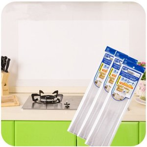 o6UOC T5133 heat resistant transparent kitchen- Wall adhesive tape Tape paper anti-oil pollution adhesive paper oil separation wall sticker