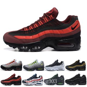 Best designers OG men's running shoes air gold Breed Gym red Laser Fuchsia green maxes white blue Classic Black Men sports shoes W5C-V