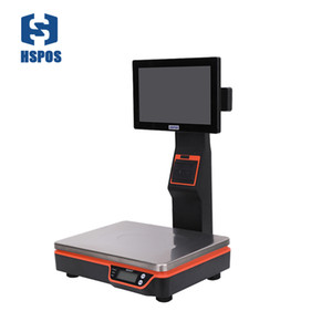 New 11.6 inch weight digital price computing scale with printer APS2