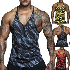 Gilet Courir Gym Eté Homme Débardeur manches sport Fitness Shirt Homme Basketball Muscle Training Gilet 4 couleurs