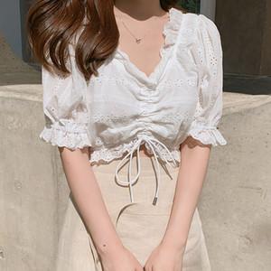 BOBOKATEER haut femme donne camice della camicetta bianca formato più delle donne top e camicette donna 2020 blusas verano mujer tunique femme