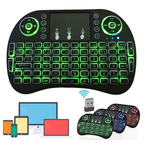 Mini i8 Keyboard Backlit For Android TV Box Remote Control 2.4G Wireless Keyboard With Touch Pad For Smart TV PC