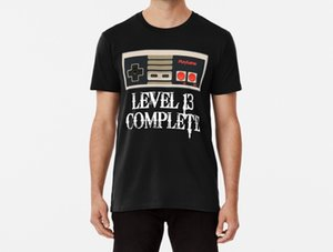 Men Funy T-shirt Level 13 Complete 13 Years Old Gaming tshirs Women T Shirt