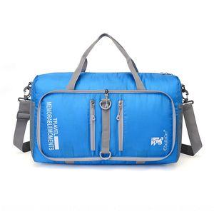 Folding Travel Men Women Hand gym large capacity short trip tour package boarding travel bag luggage bag