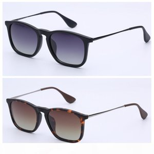 sunglasses top quality chris real polarized lenses men women sunglasses with brown or black leather case packages, retail accessories free!