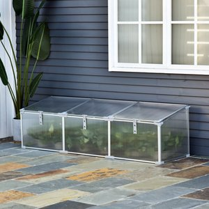 """71"""" Cold Frame Greenhouse Plants Raised Bed Gardener Protection Outdoor"""