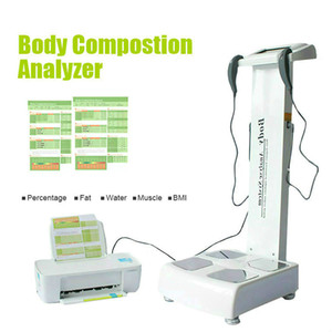 Nueva llegada !!! Composición profesional de cuerpo completo analizador de grasa / cuerpo del escáner analizador / analizador corporal envío Máquina