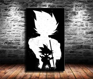 Dragon Ball Z Goku 1-1,HD Canvas Printing New Home Decoration Art Painting (Unframed Framed)