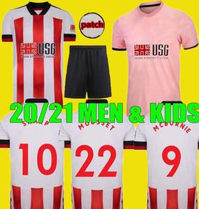 الرجال الاطفال 20 21 MOUSSET شيفيلد لكرة القدم الفانيلة أطقم McBURNIE المتحدة NORWOOD جيرسي 2020 قميص 2021 LUNDSTRAM FLECK كرة القدم