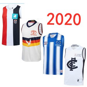 AFL 2020 Carlton Blues Guernsey JER St Kilda Santos SEY tamaño S-3XL nombres y números de impresión personalizados de calidad superior libre del envío