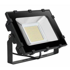 Stat Bahçe Açık Güvenlik Lighting İngiltere Stok Spor Projektör 100W 220V Sıcak Beyaz LED Taşkın Işık Lambalar