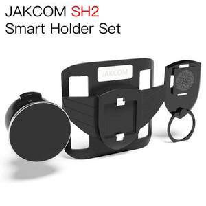 JAKCOM SH2 inteligente Titular Set Hot Venda em telefone celular Montagens titulares como pulso barbatanas titulares de telefonia móvel titular carro